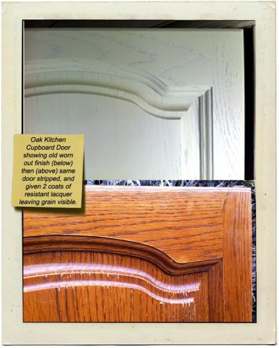 oak kitchencupboard door